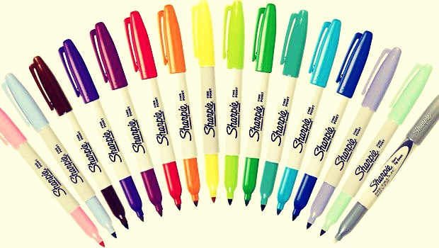 The first thing you need is sharpies.