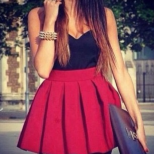 These skirts are really popular right now.