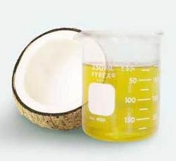 Rub in some virgin coconut oil generously onto scalp and massage well. Leave it overnight, wash  as usual in morning. This  helps in reducing dandruff formation &  for good looking healthy strong hair. Using coconut oil daily will provide gloss to your hair and you will feel it yourself.