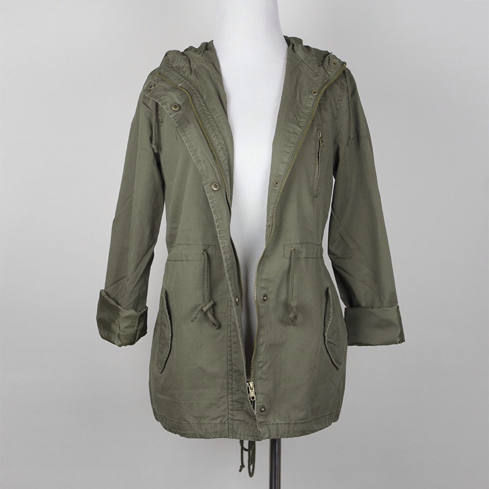 Army jacket is a must