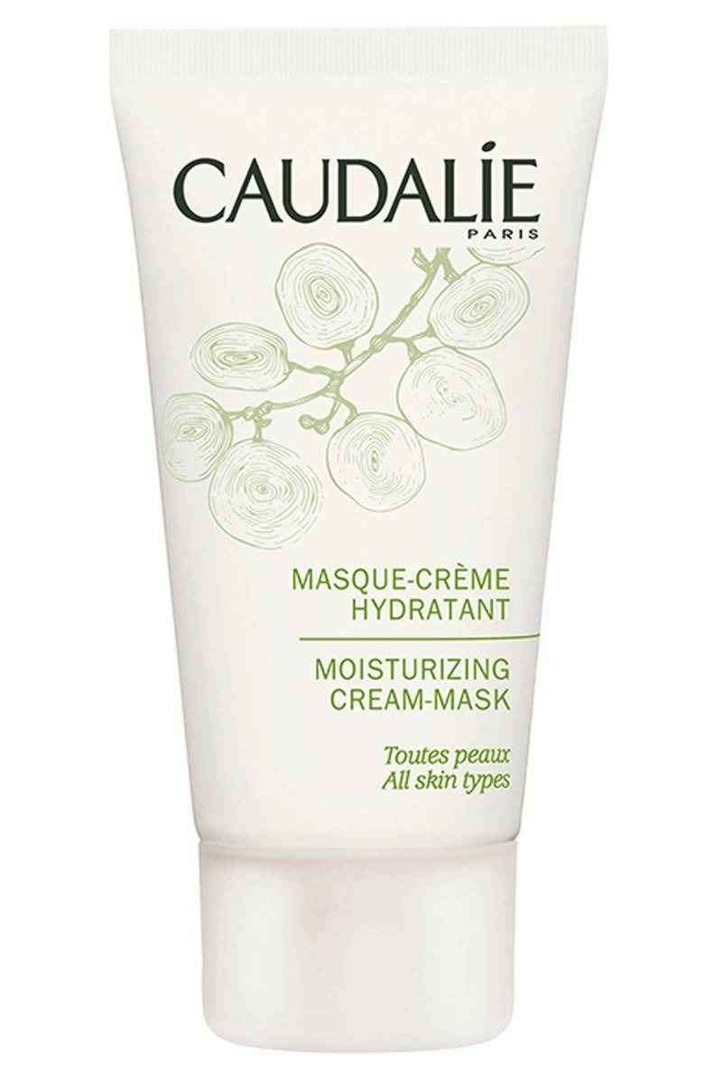 And do a deep treatment weekly Once a week, put on a moisturizing mask like Caudalie Moisturizing Cream Mask ($40) after exfoliating and leave it on for at least 20 minutes.