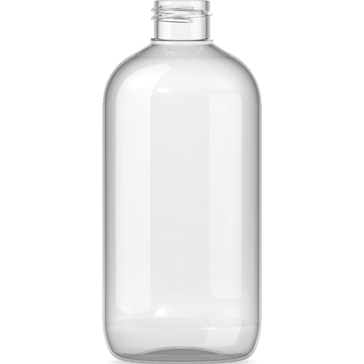 A large plastic bottle
