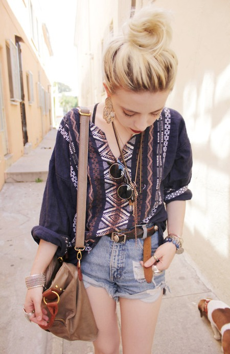 Hipster look