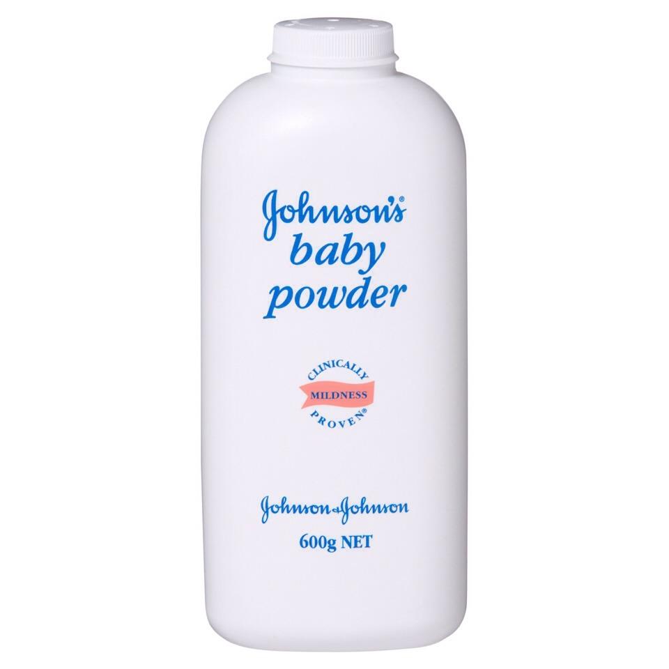 Put baby powder on the tattoo