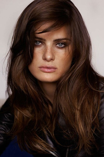Dark, cool coffee brown is a hard tone to achieve, but the results (and the cumulative amount of time spent in the salon) are worth it.