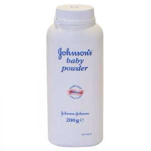 TALCUM POWDER will be your new best friend today! Any talcum powder will do they all do the same job! ..