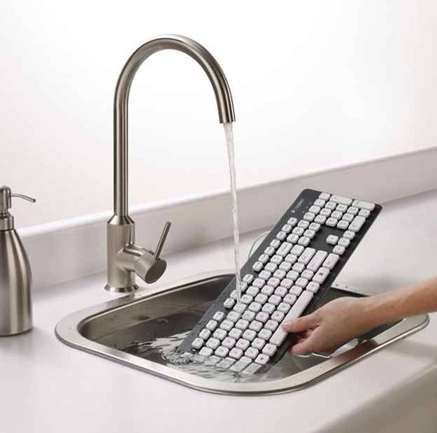 Your keyboard could be washable