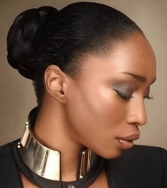 The best way to retain length is to keep your hair off your shoulders. Keeping the hair up helps to prevent friction that can cause split ends. Also tucking you ends away helps to keep winds and extreme temperatures from drying them out.