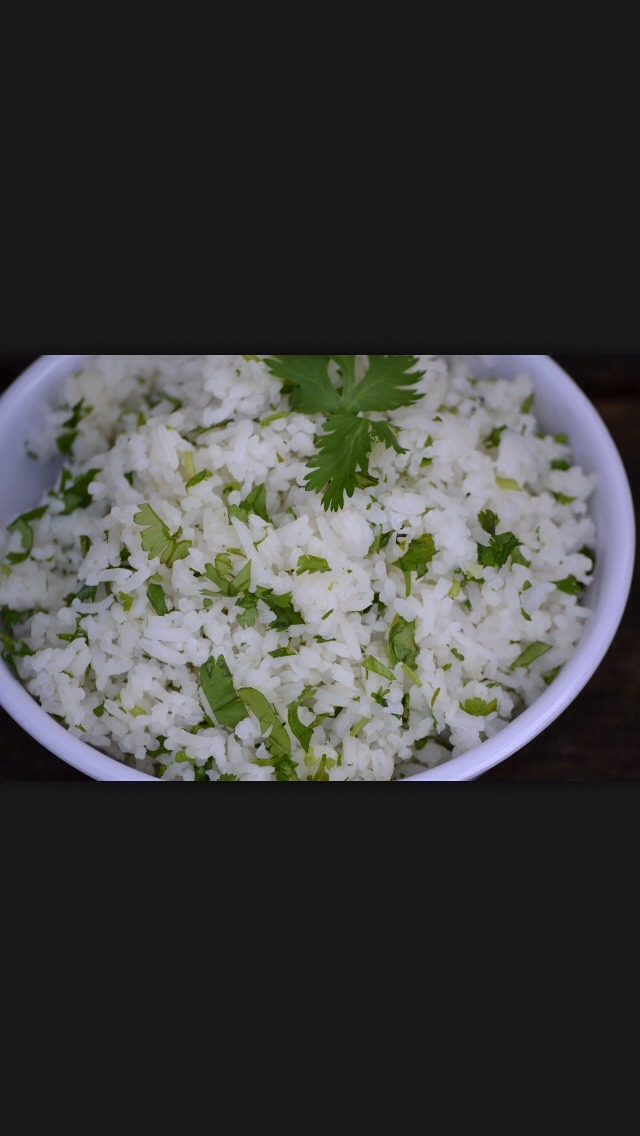 This is so easy to do and delicious!! For each cup of rice you make add 1/4 of lime juice and 1/4 of lemon juice, 1/2 cup of fresh chopped cilantro, and a teaspoon of Kosher salt (you can use regular salt but kosher brings the flavors together), mix and ready to enjoy!! Don't forget to follow 😸