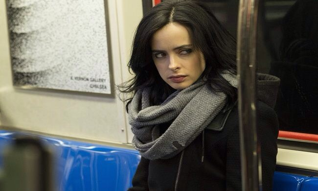 """""""JESSICA JONES"""" Jones takes subject matter too mature to show elsewhere & plops it in with an insane backstory thatleavesyou clicking on the next episode.Thevillainwriters went for is cold-blooded &depraved &if youlike your comic stories with a bit more grit, booze & sex scenes, this is it."""