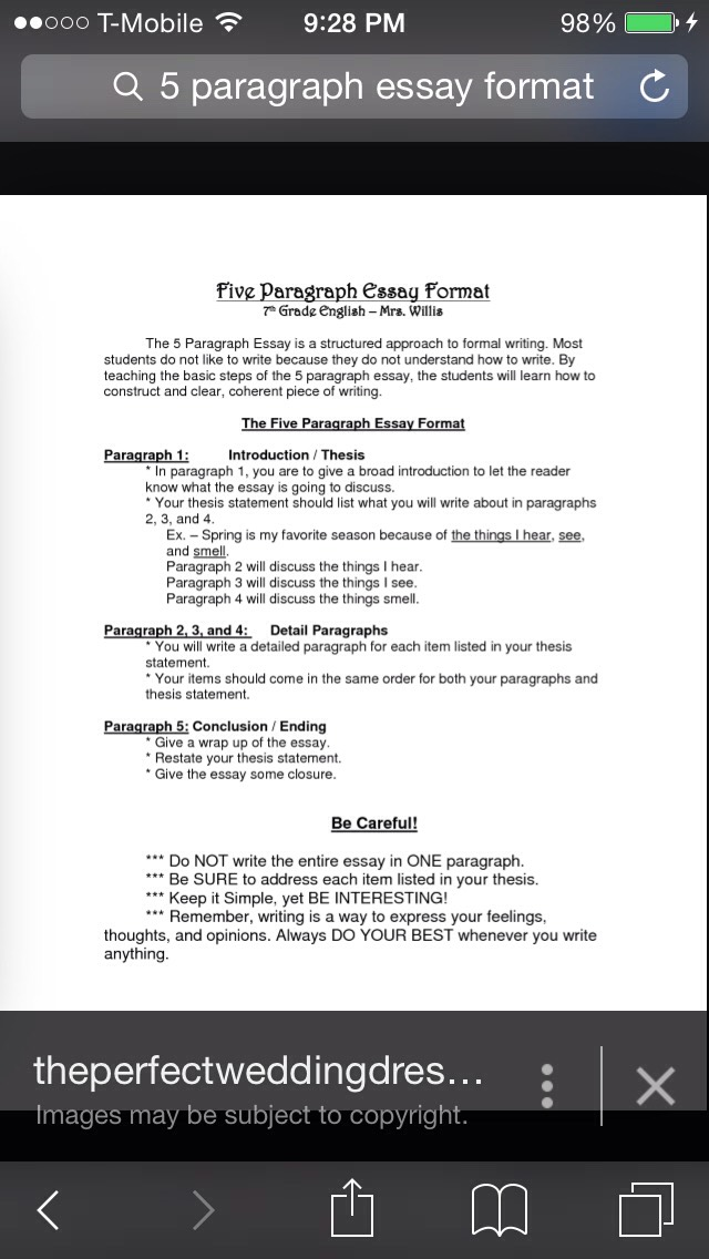 writing the five paragraph essay Constructing the five paragraph essay - five paragraph essay basic parts introductory paragraph and thesis statement supporting paragraphs (three) the 5 paragraph essay - help on how to write one the purpose of an essay an essay states and supports an opinion with evidence and.