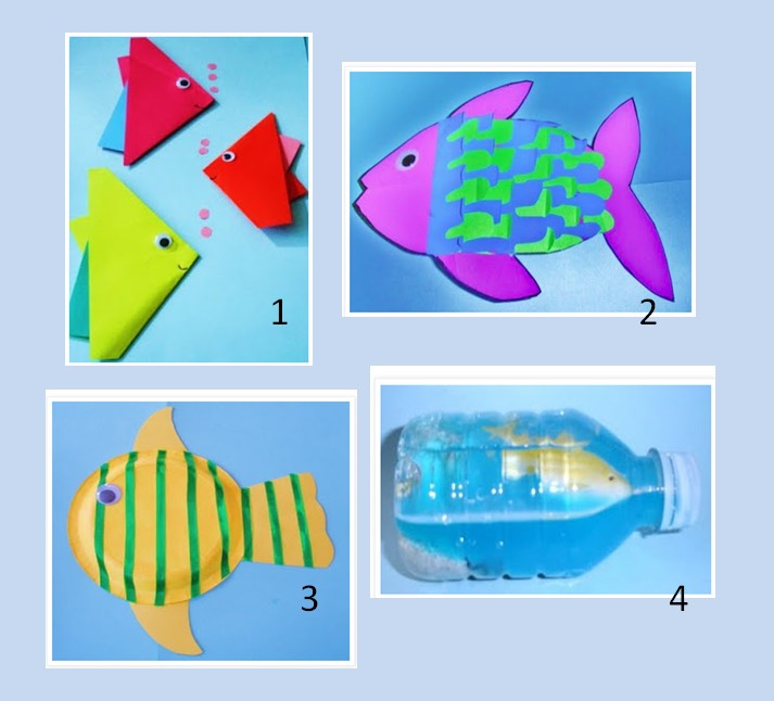If your kids love fish they'll love these ideas! 🐟🐠