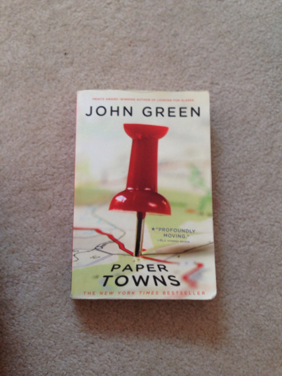 John green is an amazing author. I recommend all of his books (paper towns, the fault in our stars etc.)
