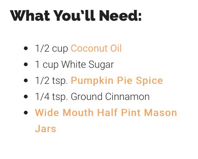 To make your own pumpkin pie spice click on this link for recipe!!! http://thefrugalgirls.com/2014/10/pumpkin-pie-spice-recipe.html