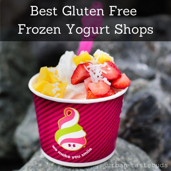 Yogurtland has the best gluten free frozen yogurt ever!! as well as Bliss frozen yogurt and dippin dots