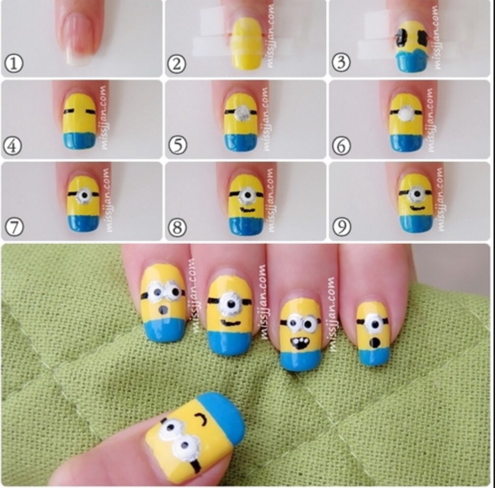 I Love Minions And If You Do Too Please Like Save The Cute Minion Design Also Share To Your Friends As Well Hope Guys It