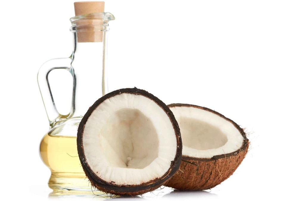 """•Coconut Oil Not only does coconut have that great """"vacation-in-the-Caribbean"""" smell, it's also great for your hair.  Coconut oil is high in vitamin E and other nutrients, and your hair can absorb them all. The result will be hair that is thicker, shiner, healthier and has stronger roots."""