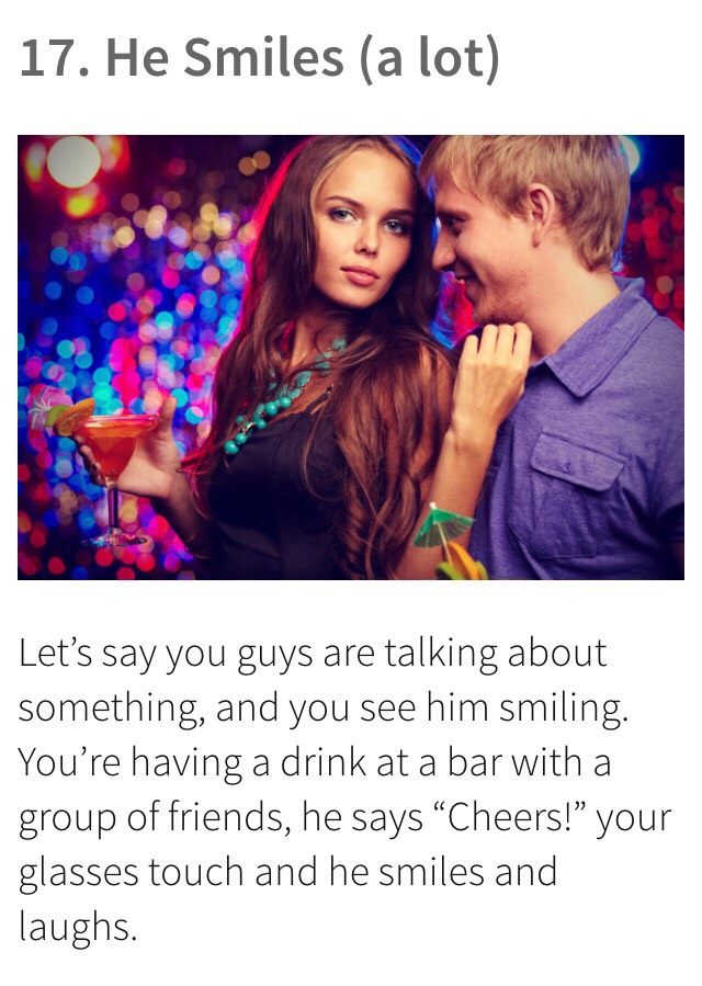😘😘52 Signs That Tells If A Guy Likes YOU! 😘😘 by 'Chet