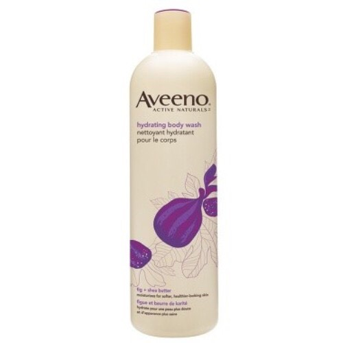 Since there is a sticky feel, I use Aveeno active naturals hydrating body wash because, 1. It gets rid of the stickiness, 2. It's hydrating, and 3. It smells good.