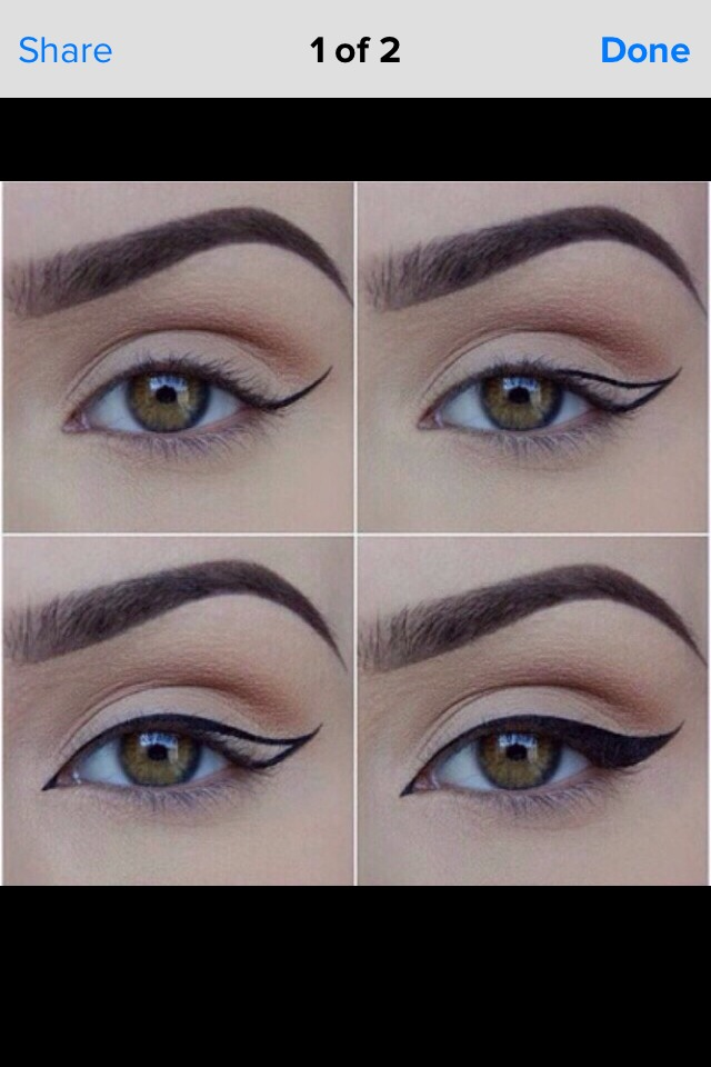 Living Room Decorating Ideas For Apartments For Cheap: Step By Step Easy Wing Eyeliner Tips 💜😊 By Amy H
