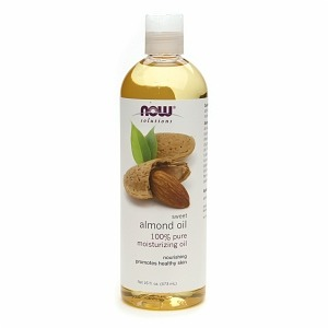 One tablespoon almond oil