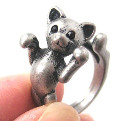 12.50 - Cute Kitty 3D Ring!! 💝😻