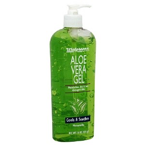Apply aloe vera to burns/cuts/bumps. It will soothe the pain and help the healing process