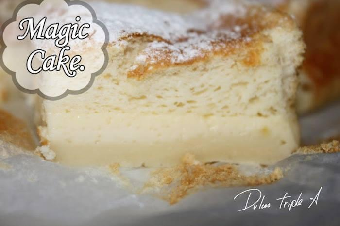 This dessert is well known on the web and you will be glad you tried it like me, its three textures makes it a cake very moist