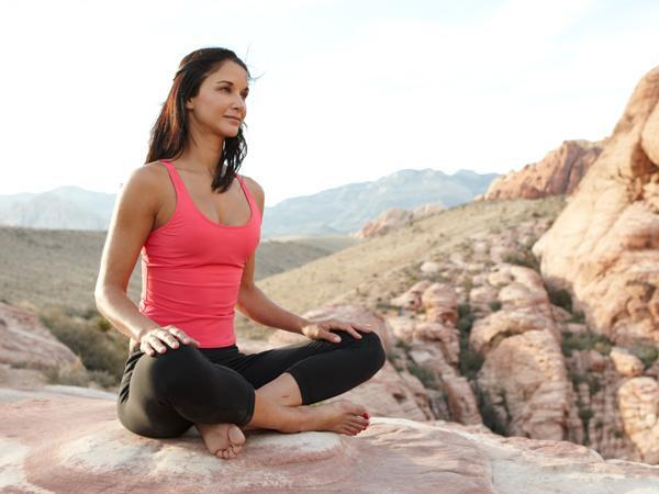 6. Meditate  It's no secret that stress-eating can sabotage the best diet intentions. A short daily meditation can help you keep binge-inducing anxieties in check.