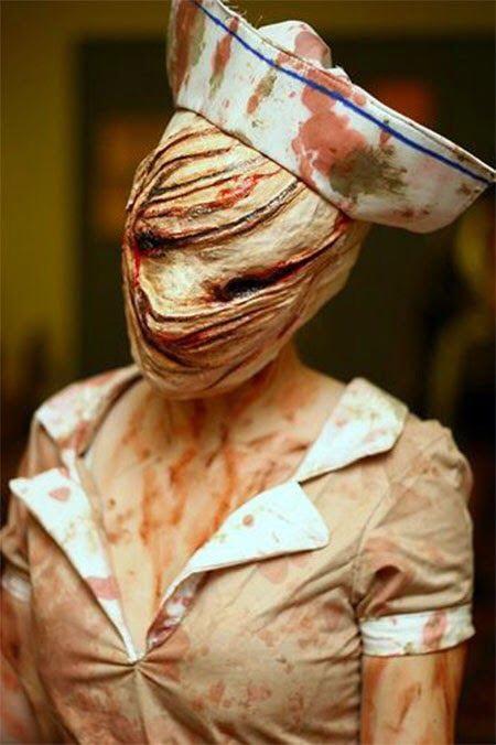Everyone loves creepy nurses, right?