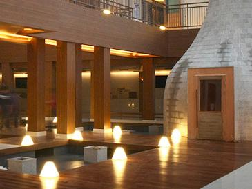You can also hop into both dry and steam saunas, further driving toxins out of your body and relaxing tired muscles.