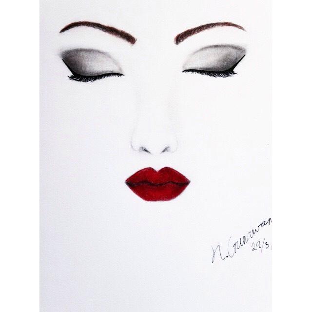 makeup drawings mugeek vidalondon