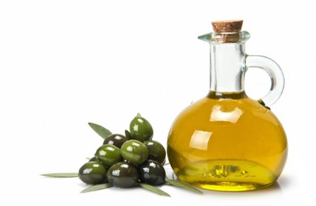 Olive oil acts as a hypo-allergenic moisturizer that won't clog pores.