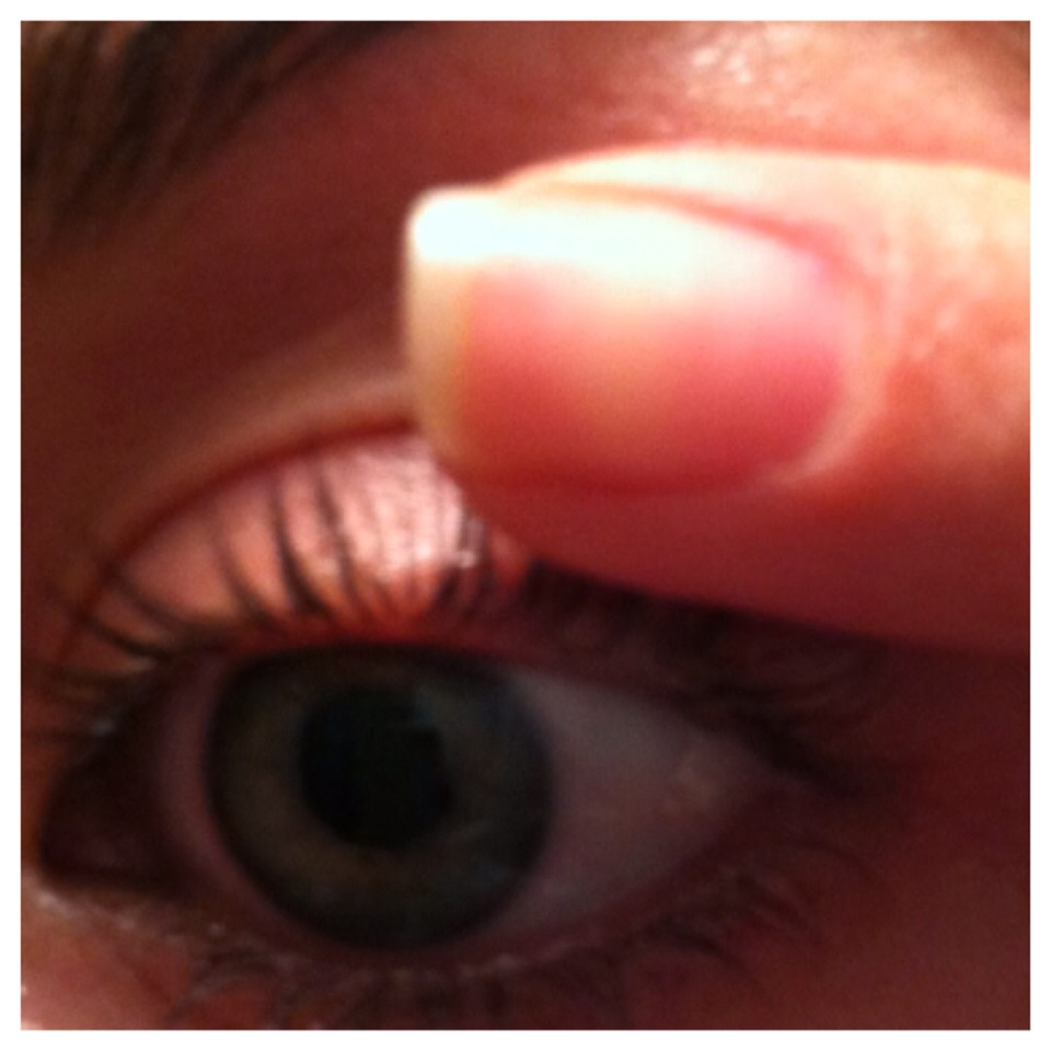 As mentioned before, you can also apply the petroleum jelly with the clean mascara brush or even your finger tips.