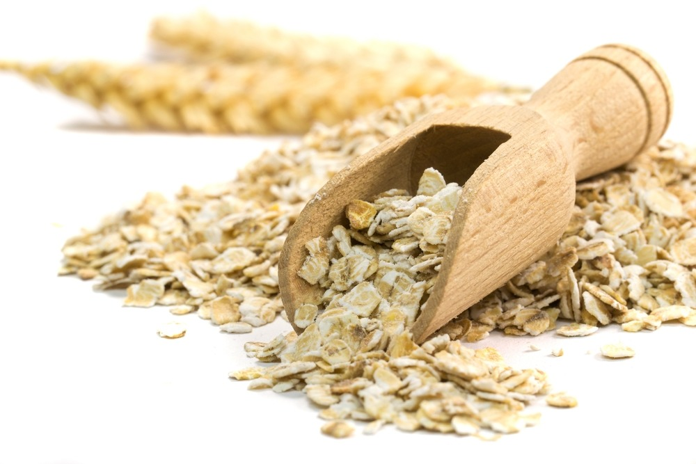 Oatmeal Scrub Combine one teaspoon of colloidal oats with a tablespoon of quick-cooking oatmeal in a small bowl. Mix in 1 tablespoon honey and 2 teaspoons warm water. Combine well and massage into face and neck in the shower for a gentle scrub that hydrates as it buffs and adds radiance.