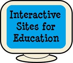 4-Interactive sites for education This one is really fun because it's like interactive flashcards and there are a lot of subjects available.