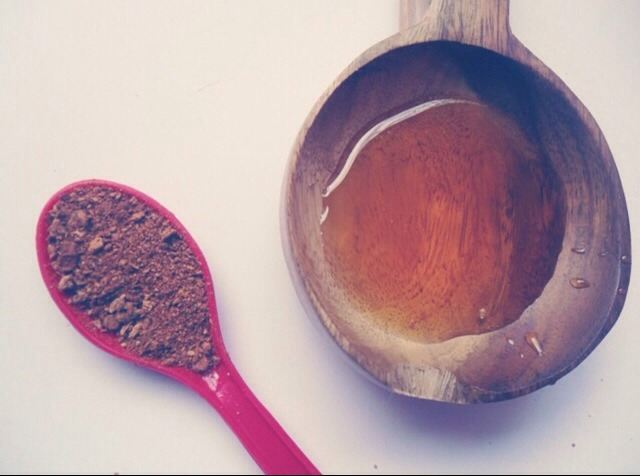 3 teaspoons of raw honey  1/2 teaspoon of cinnamon  Mix together and apply to face   Leave it in for 20-30 min  Rinse with warm water