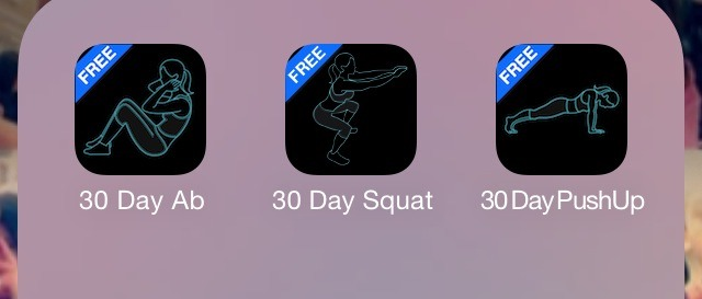 • Here are some of my personal favorite 30 day challenge apps. These really help you stay focused on a certain area and keep track of how you're doing.