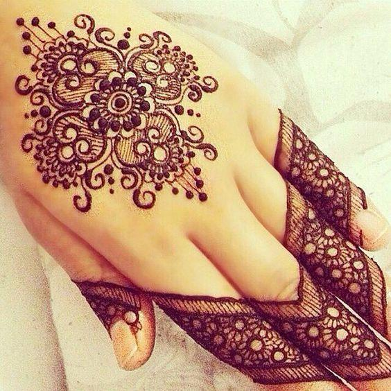 for nail polish and body art she would use henna.