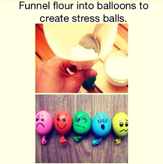You will need a funnel,flower and 3 balloons 👍🏻