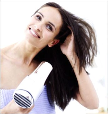 When drying your hair make sure it's on a low heat to cool don't use a brush or comb run your fingers through your hair. Then when your hair is almost dry scrunch your hair to give it abit more volume and style to your hair😁