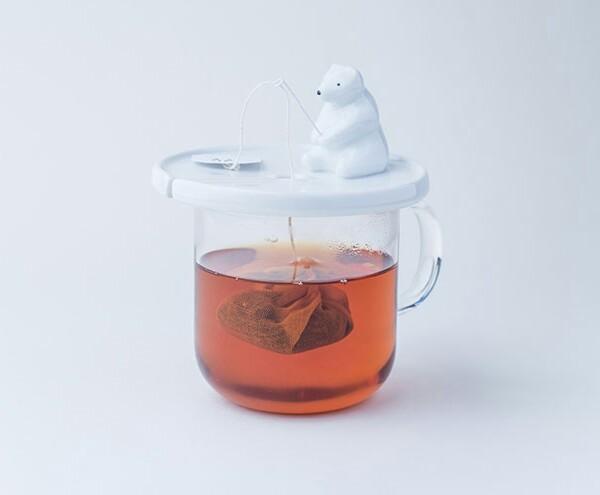 Polar Bear Tea Bag Holder!