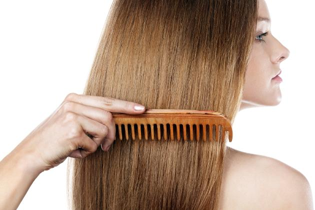 One of the best rebonded hair care tips is using a wooden comb. While a plastic one can make your hair frizzy because of static, a wooden one won't