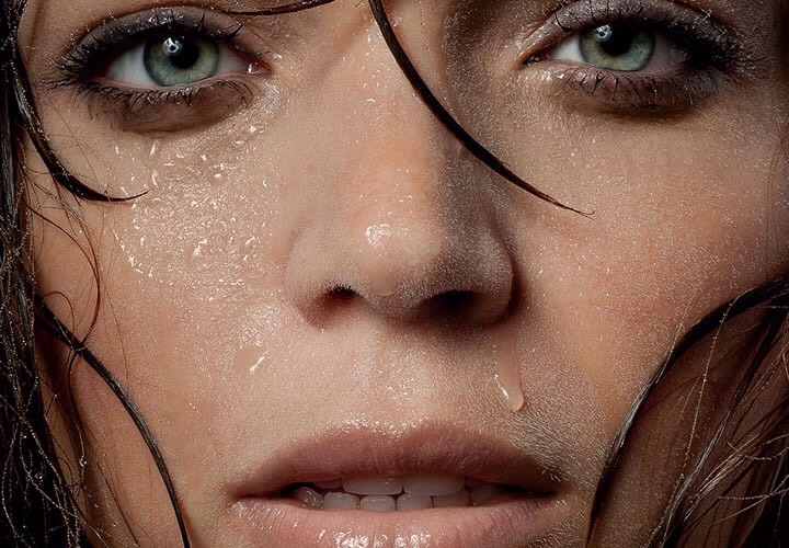 SWEAT |Ofcourse, exfoliating doesn't make for thegreatest foreplay, so if a pre-sexpamper sesh isn't in the cards, at the very least make sure you get it all off after (or during!) with a shower.  Tryusing anything with salicylic acid, or a gentle foaming wash, to make sure your pores are clean