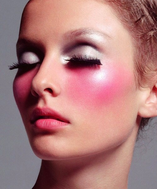"""Wrong shade of blush!! Blushes should complement your natural blush tone, says If you are wearing a bolder lip, pair that with a subtler shade of blush."""""""