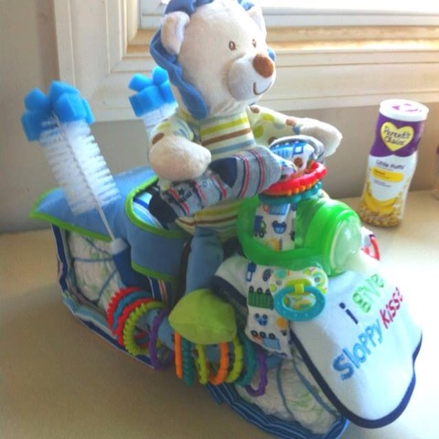 Cute baby boy gift set