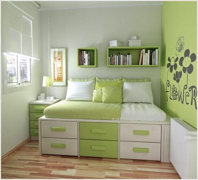 A Built-in Storage Bed