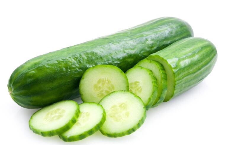 Cucumber:  • soothes puffy eyes • cucumber toner • cucumber face mask • cucumber skin tonic