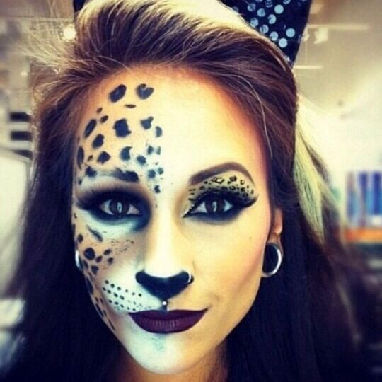 this was actually my makeup for last halloween it was pretty easy and a lot of fun - Fun Makeup Ideas For Halloween