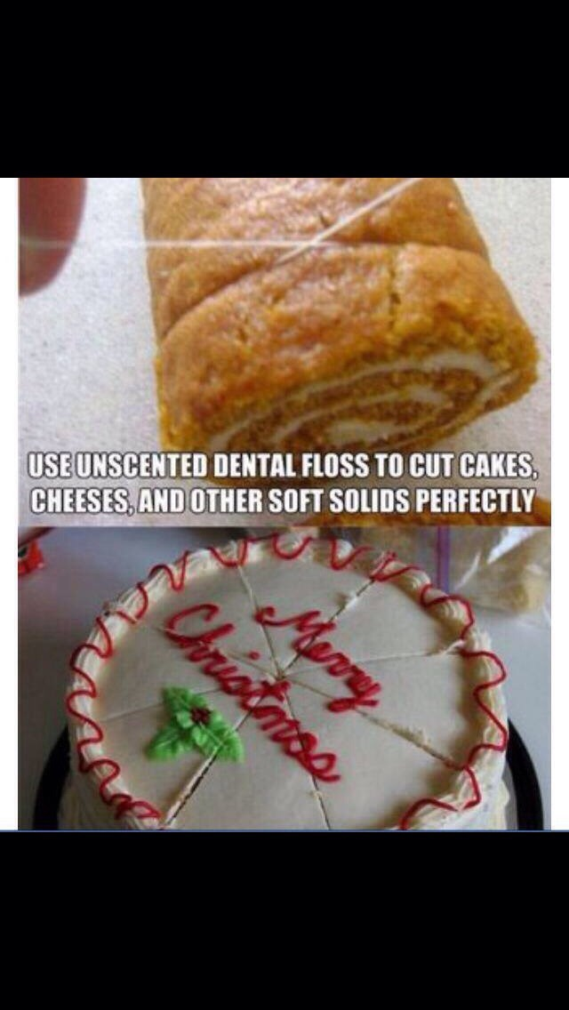 Easier way to cut cake🎂